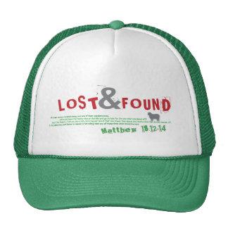 Casquillo perdido y encontrado gorras de camionero