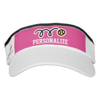 Casquillo personalizado de la visera del tenis visera