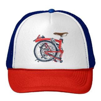 Casquillo retro de la bici de Brompton (gorra del Gorro De Camionero