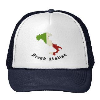 Casquillo retro italiano orgulloso del gorra del c