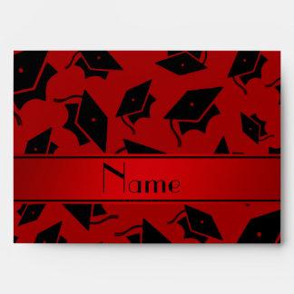 Casquillo rojo conocido personalizado de la sobres