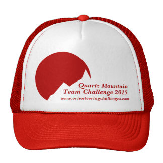 Casquillo rojo de la promoción del logotipo del de gorra