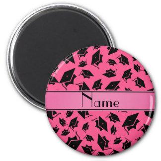 Casquillo rosado conocido personalizado de la grad