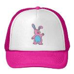 casquillo rosado lindo del conejo gorros bordados