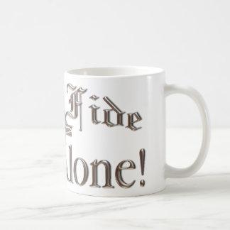 Casquillo-taza de Sola Fide Taza De Café