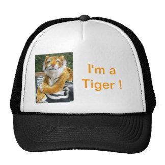 """Casquillo, tigre, """"soy un tigre """" gorra"""