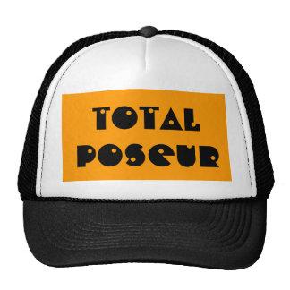 Casquillo total del camionero del Poseur Gorra