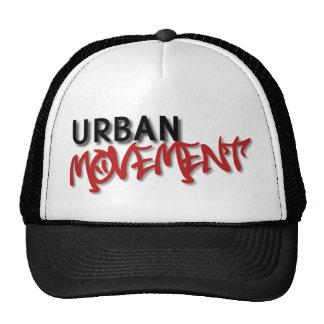 Casquillo urbano de la bola del movimiento gorros