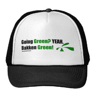 Casquillo verde de Bakken Gorra