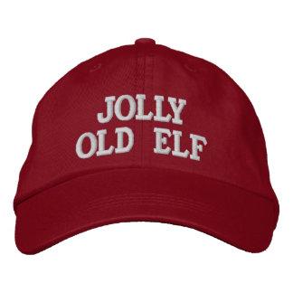 Casquillo viejo alegre del bordado del duende gorra de beisbol