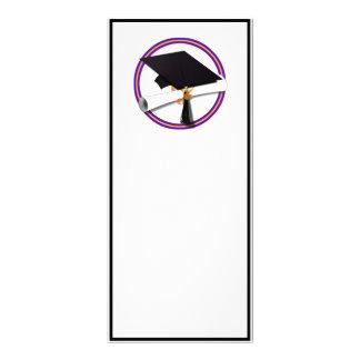 Casquillo w/Diploma del graduado - la escuela Lona