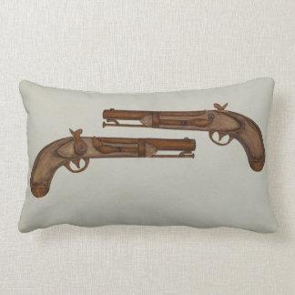 Casquillo y almohada del revólver de la bola