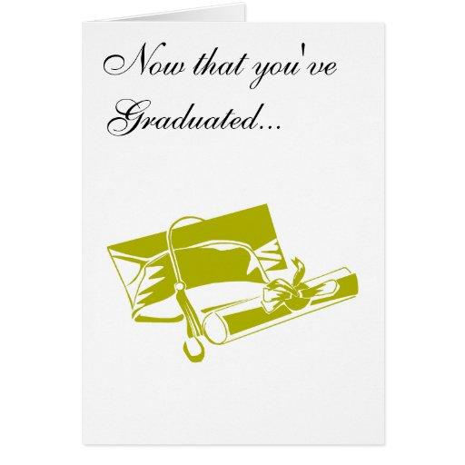 Casquillo y diploma del oro tarjeta de felicitación