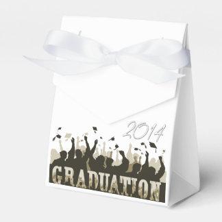 Casquillos de la graduación 2014 cajas para detalles de boda