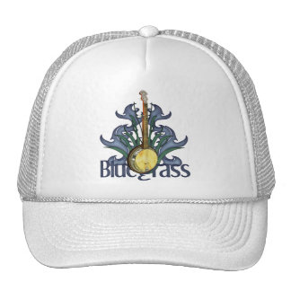 Casquillos del diseño del banjo del Bluegrass Gorro De Camionero