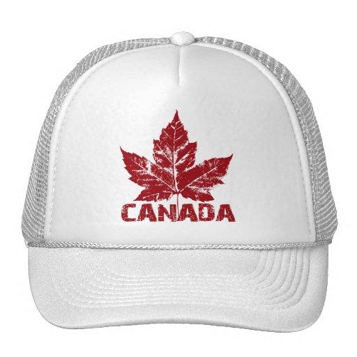 Casquillos retros de la hoja de arce de Canadá del Gorro