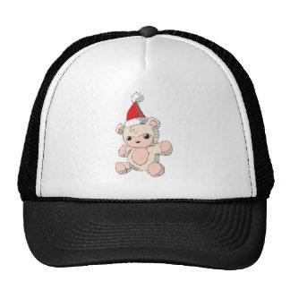 Casquillos rojos rosados lindos del bolso del gorras