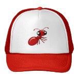 Casquillos unisex de la hormiga roja adorable del  gorro de camionero