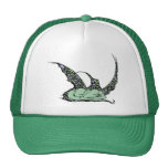 Casquillos (verdes) el dormir Dragonette Gorros
