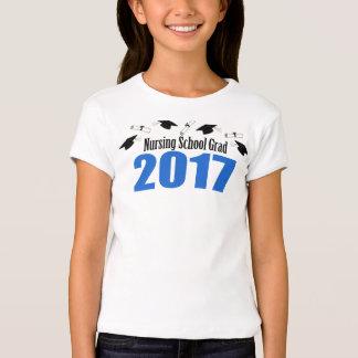Casquillos y diplomas del graduado 2017 de la playera
