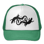 Casquillos y gorras del reptil del casquillo del c