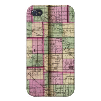 Cass County and Miami County iPhone 4 Cover