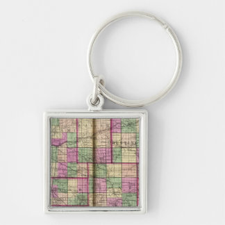 Cass County and Miami County Key Chain