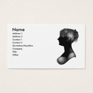Cassandra Austen business card