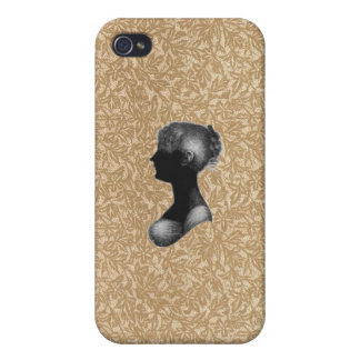 Cassandra Austen in Antique Paper iPhone 4/4S Cases