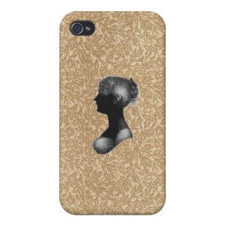 Cassandra Austen in Antique Paper iPhone 4/4S Cases