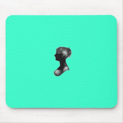 Cassandra Austen's Silhouette Mouse Pad