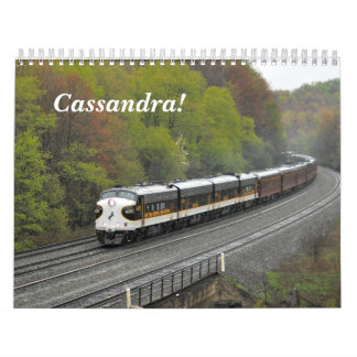 ¡Cassandra!  Calendario de la acción del carril