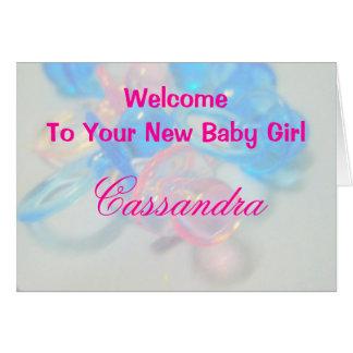 Cassandra Card