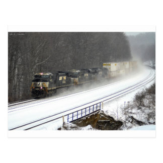 Cassandra en invierno postales