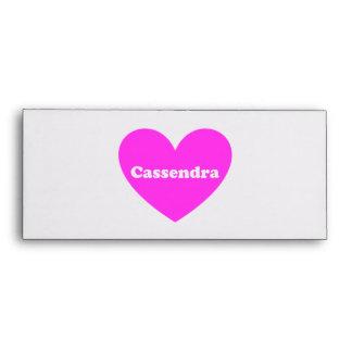 Cassandra Envelope