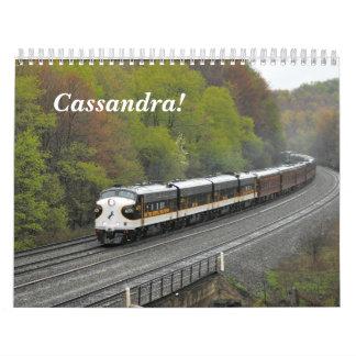 Cassandra!  Rail Action Calendar