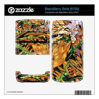Cassandra Rides The Halloween Dragon BlackBerry 97 Skins For BlackBerry