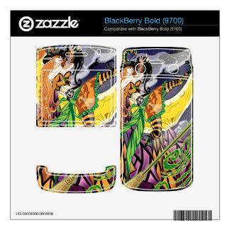 Cassandra The Witch Fairy BlackBerry Bold 9700 Vin Skin For BlackBerry