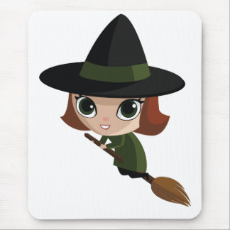 Cassandra The Witch Mouse Pad