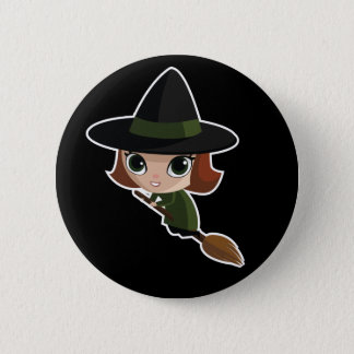 Cassandra The Witch Pinback Button