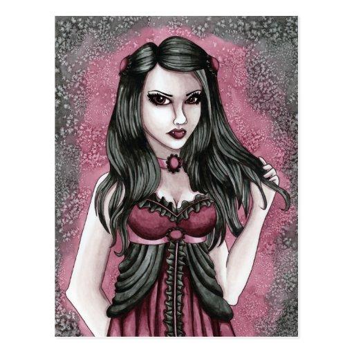 Cassandra - Vampire Postcard