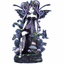 nature, butterfly, flowers, mushroom, fairy, faerie, faery, fae, fairies, fantasy, art, scupture, myka, jelina, cassandra, faeries, Photo Sculpture with custom graphic design