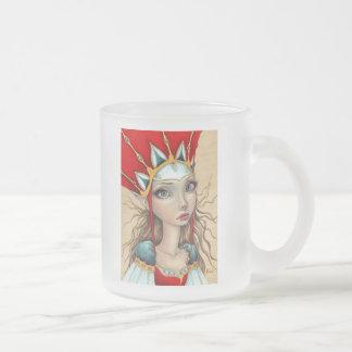 Cassandra's Dream Frosted Glass Coffee Mug