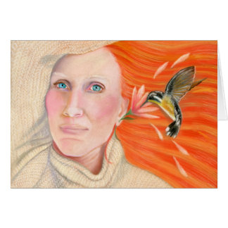 Cassandra's Hummingbird Card