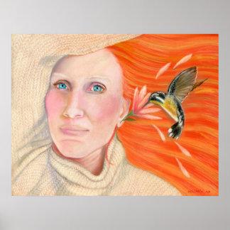 Cassandra's Hummingbird Print