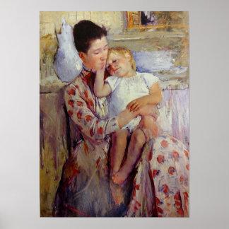 Cassatt Art Mother and Child Poster