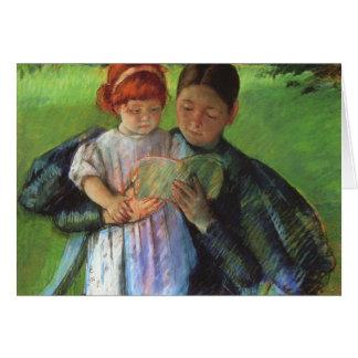 Cassatt: Nurse & Young Girl Card