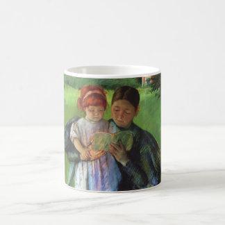 Cassatt Nurse Young Girl Coffee Mugs