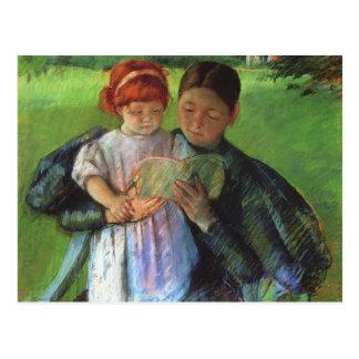 Cassatt: Nurse & Young Girl Postcard