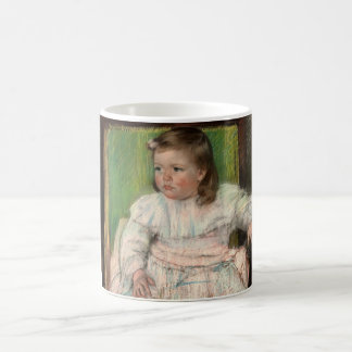 Cassatt The Pink Sash Coffee Mug